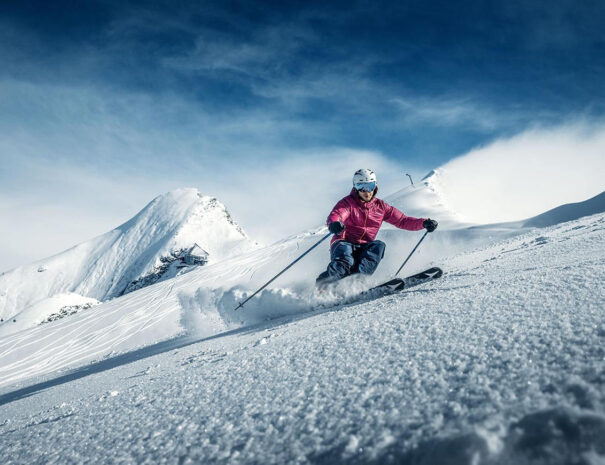 Ски - Freeride - ледника Китцщайнхорн