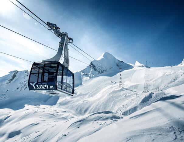 Ски зона - ледника Китцщайнхорн